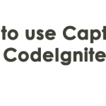 How to use Captcha in CodeIgniter