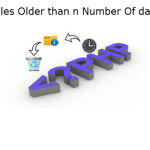 Delete Files Older than n Number Of days Using PHP?