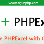 How to use PHPExcel with CodeIgniter?