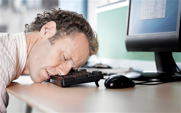 How to prevent sleeping at work