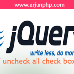 How to check / uncheck all check boxes using jQuery?