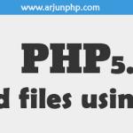 Send files via cURL in PHP 5.5+