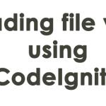 Uploading file via FTP using CodeIgniter