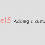 How to add custom class in laravel5