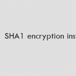 Laravel 5 – SHA1 encryption instead of BCrypt
