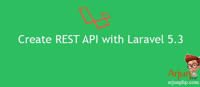 Create REST applications with the Laravel framework